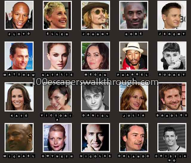 Celebrity Quiz Game Answers | iPlay.my