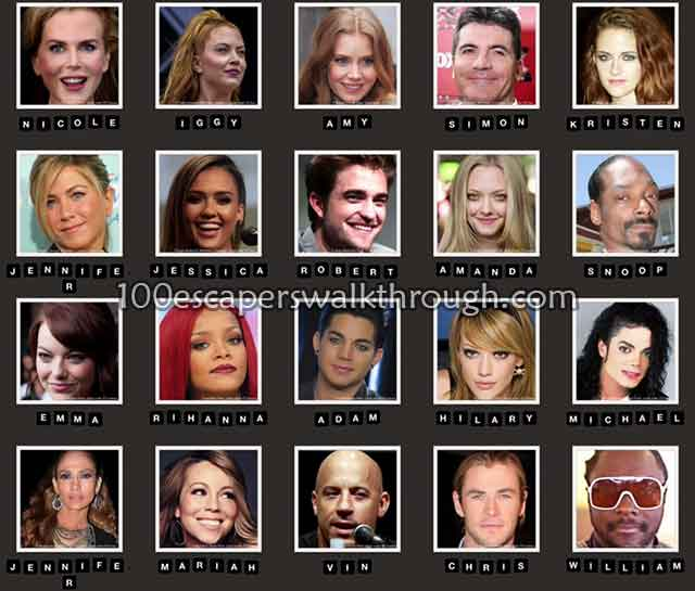 Close Up Celebrity Quiz - Level 11-20 Answers - YouTube