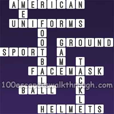 One Clue Crossword American Football Answers 94 Game