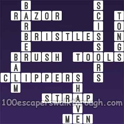 One clue crossword barber tool answers 94 game answers for Gardening tools 94 game answers