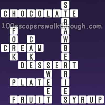 One Clue Crossword Dessert Cake Answers | 94% Game Answers for 100