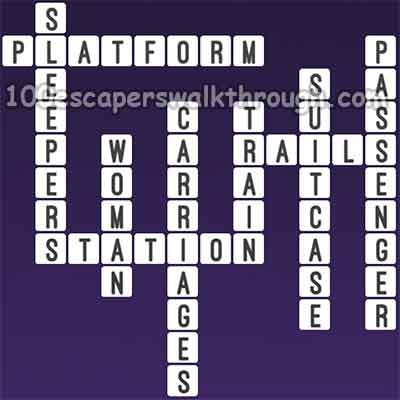 One Clue Crossword Train Passenger Answers