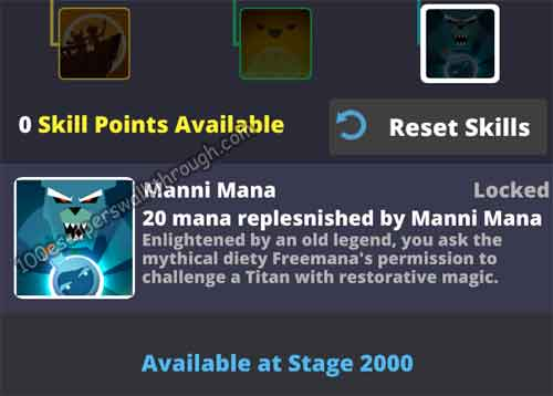 Tap Titans 2 Manni Mana Walkthrough | 94% Game Answers for