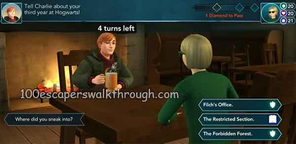 charlie-weasley-Drink-Butterbeer