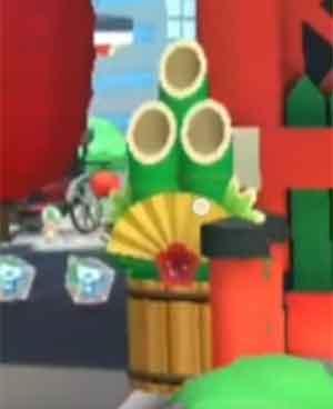 Hit A Kadomatsu With An Item 3 Times In A Single Race Mario