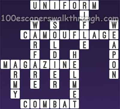 one-clue-crossword-soldier-answers
