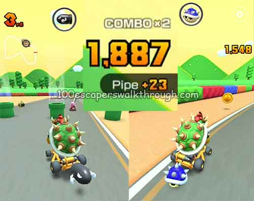 How To Take Out 3 Pipes Mario Kart Tour 94 Game Answers